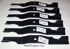 "PET-444 Qty (6) Lawn Mower Blades 50"" GRAVELY ARIENS 03971900 39719 37465 34"""