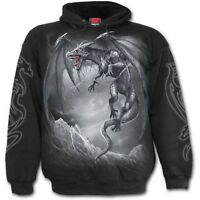 Spiral Direct DRAGON'S CRY - Hoodie Mystical/Wings/Metal/Biker/Rock/Hoodiy/GOT