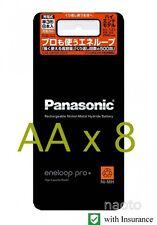 Panasonic Sanyo Eneloop Pro XX 2500 mAh 8 pcs AA High End rechargeable