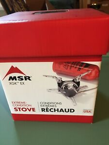 MSR XGK-EX BACKPACKING STOVE - BRAND NEW IN BOX