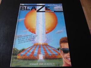 BLAZE MAGAZINE ISSUE 10 1993..UK RAVE CULTURE HARDCORE DANCE MUSIC FANZINE