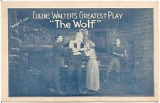 "Scene From Eugene Walter's Greatest Play ""The Wolf"" Advertising Postcard #2"