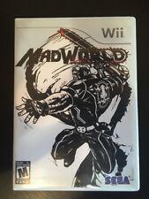 MadWorld - Wii ( Nintendo Wii , 2009 ) Sega , Complete W/box & Manual !