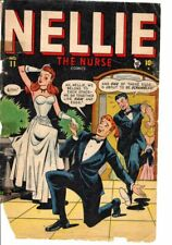 """Nellie the Nurse #11 Poor 1948 - Rare in any condition"""""""