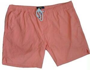 JOHNNY BIGG mens size 46 shorts orange stretch casual swim summer beach