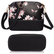 Women Floral Kimono Satchel Bag Tote Messenger Leather Purse Shoulder Handbag