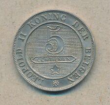 België/Belgique 5 ct. Leopold II 1898 Vl Morin 249 (13493)