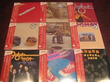 FOGHAT K2HD MASTERS 9 TITLES JAPAN REPLICA OBI CD'S RARE ONE TIME SPECIAL OFFER