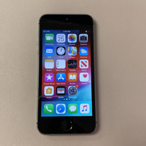 Apple iPhone 5S - 64GB - Gray (Unlocked) (Read Description) EE1060