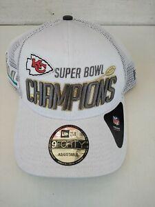 New Era 9Forty Kansas City Chiefs Super Bowl LIV Champions Adjustable Hat Cap