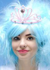 Fairy Princess Pink Glitter Tiara