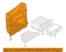 AUDI OEM 02-08 A4 Quattro GPS Navigation System-Compartment 8E5035201