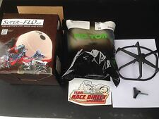 Air filter kit super flow No Toil Airpower cages Luftfilter Einsatz Motocross MX