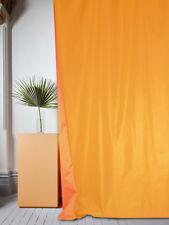 Tenda di raso double face arancio caldo (Raso col.46)