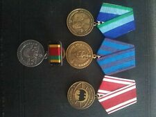 More details for 4 russian collection special forces spetznaz medal