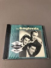 The Best of THE GAYLORDS The Mercury Years CD NEW Rare OOP 50s/60s Pop Vocal