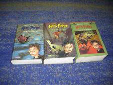 Harry Potter Büchersammlung mehrere Bänder komplett und gebunden Phönix usw.