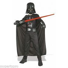 Star Wars New Darth Vader Child Costume with Mask Medium Birthday Party Supplies
