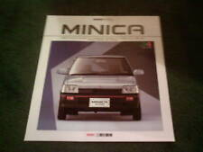 1988 Mitsubishi MINICA inc TURBO - LARGE FORMAT 20 PAGE JAPANESE BROCHURE 2/88