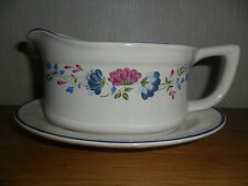 BHS PRIORY GRAVY / SAUCE BOAT AND STAND
