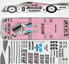 Porsche 962 italya JOEST #9 LE MANS 1:24 Pegatina Adhesivo