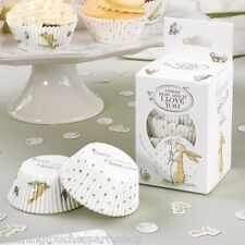Guess How Much I Love You 1st Birthday Baby Shower Supplies Cup Cake Wrappers