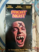 Fright Night (VHS, 1996, Closed Captioned) Sealed