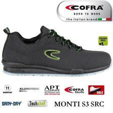 Scarpe antinfortunistiche Cofra Monti S3 SRC Scarpe da lavoro traspiranti