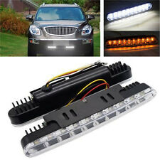 2x 30 LED Daytime Running Light Turn Signal Lamp Day Lights Daylight For All Car