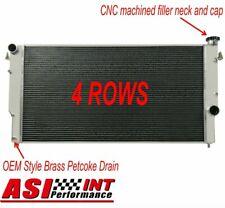ASI 4 Row Aluminum Radiator For 1994-02 Dodge Ram 2500-3500 L6 5.9L Turbo Diesel