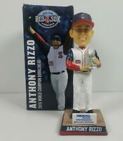 Anthony Rizzo Bobblehead Salem Red Sox Chicago Cubs 2016 WS Champion Giveaway
