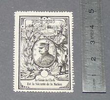 CINDERELLA TIMBRE GUERRE 14-18 JOFFRE 1916 PRO PATRIA GENIE DU CHEF