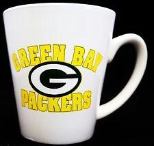 Green Bay Packers Nfl National Football League White Ceramic Coffee Cup Mug!