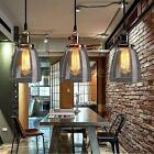 Modern Vintage Glass Cover Ceiling Pendant Light Chandelier Lamp Shade Fixture