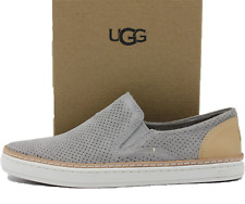 UGG Adley Perforated Women's Shoes 1018375 Seal - NEW Authentic