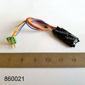 Decodeur 8 poles NEM 652 DCC moteur + 4 fonction Decoder digital LaisDcc 860021