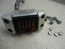1986 HONDA SHADOW VT500 500 HANDLEBAR CLAMP FUSE BOX