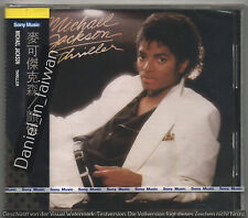 Michael Jackson: Thriller (1982) TAIWAN CD 1ST EDITION WITH BLACK OBI SEALED