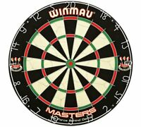 Winmau Masters Bristle Dartboard Cliple II Wire Fixing System This Is A Great_UK