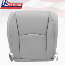2007 Lexus RX350 RX400 Driver Side Bottom Replacement Leather Seat Cover Gray