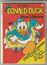 "Walt Disney's Donald Duck Fun Library #1 - Purnell Books 1978 ""Very Nice Copy"""