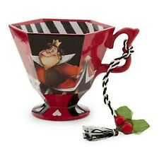 New Disney Parks Alice In Wonderland Queen of Hearts Tea Cup Ornament Figurine
