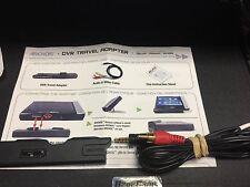 ARCHOS DVR TRAVEL ADAPTER SNAP ON & 3 WAY RCA AV FOR AV-404+504+604+704+705 GEN4
