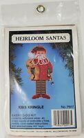Heirloom Santa's Kris Kringle New Vintage Cross Stitch Kit Willmar Crafts Corp