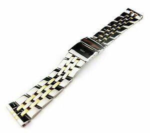22mm 24mm Stainless Steel Strap Band Bracelet fit BREITLING CHRONOMAT CROSSWIND