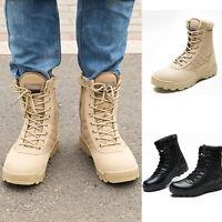 Herren Einsatzstiefel Stiefeletten Boots Outdoor Warm Gefütterte Army Stiefel