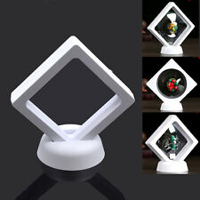 Plastic Display Stand Holder Jewelry Ring Pendant PET Membrane Case Protect Box