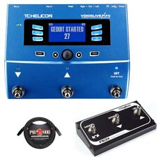 TC Helicon Voicelive Play Effects Processor + Digitech FS3X Footswitch + Cable