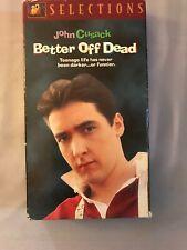 Better Off Dead Vhs John Cusack 80's Comedy