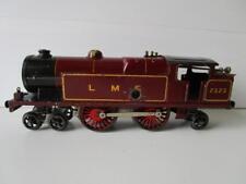 Vintage Hornby Clockwork O Gauge LMS Tank Locomotive Engine 2323 Maroon